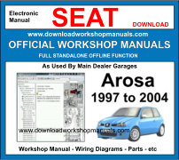 Seat Arosa Service Repair Workshop Manual Download